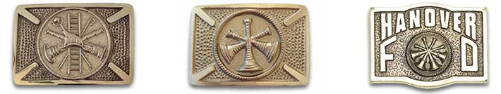 Fire & EMS brass belt buckels.
